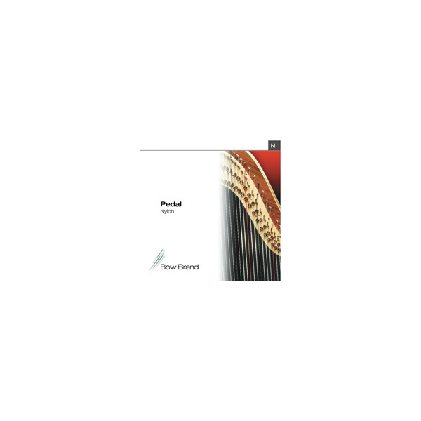 bow brand nylon pedal harp